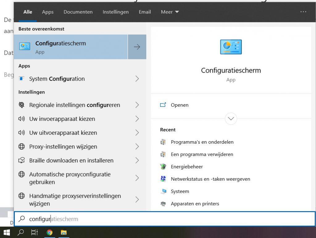 windows-app-config-verwijderen-1